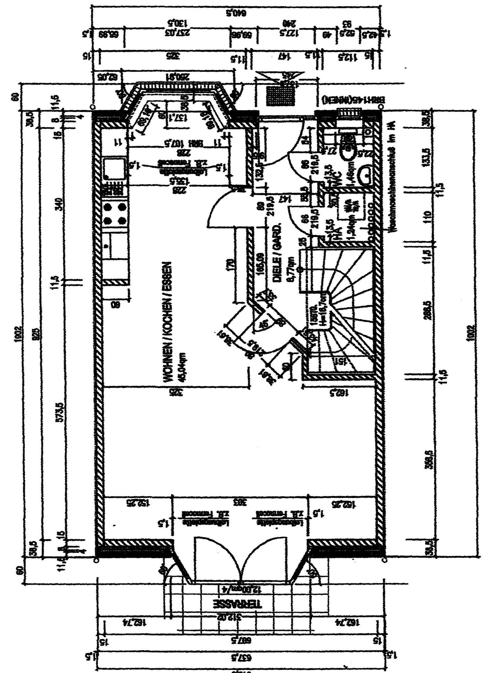 KINDERFREUNDLICHES MITTELREIHENHAUS (BJ. 2007) MIT   CA. 135 QM WOHNFLÄCHE + 225 QM GRUNDSTÜCK